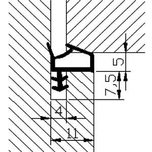 BRTVA D 28P shema