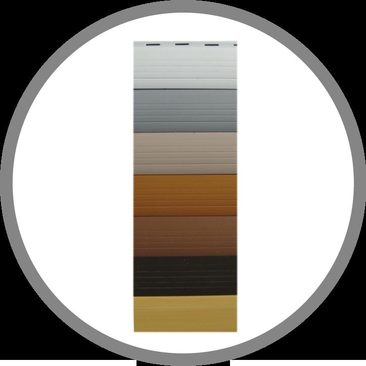 Roletna letvica PVC 38-8-5 Mini